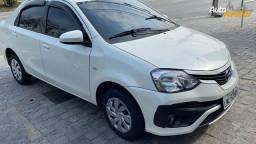 Título do anúncio: Etios Sedan XS 1.5 Automático 2018 - GNV