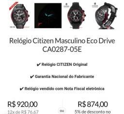 Relógio Citizen Eco Drive b612