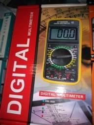 Multímetro digital qualidade imbatível o melhor e produto novo entregamos em Poa-rs