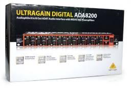 Conversor de Áudio Ultragain Digital Behringer ADA8200 - Loja Física