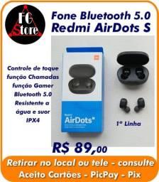 Fone Bluetooth 5.0 Redmi AirDots S - 1ª Linha