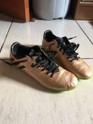 Chuteira Futsal Adidas Messi 16.4 IN Masculina - Preto e verde