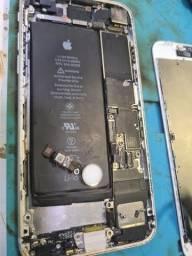 Iphone 8 placa com biometria on