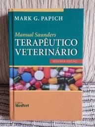 Manual Saunders Terapêutico Veterinário - Segunda Edição - Mark G. Papich