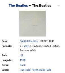VINIL THE BEATLES (WHITE)