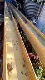 80 toneladas de vigas