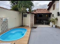 (André) Casa com 3/4, Piscina, Churrasqueira (Entrada + Parcelas)