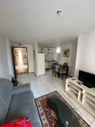 Alugo - Apartamento Mobiliado Frente Mar.