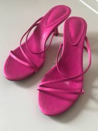 Sandália Neon Pink Schutz