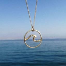 Cordão (a)mar dourado
