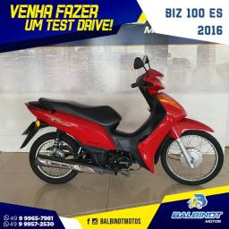 Título do anúncio: Biz 100 ES 2015 Vermelha