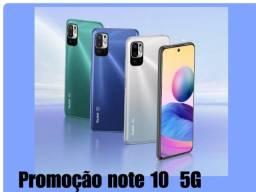 Título do anúncio: Redmi Note 10 5G 128 GB/4 GB Azul/Cinza