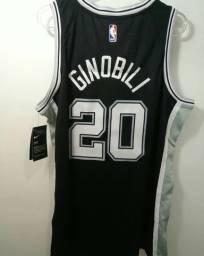 Camisa de basquete (SAN Antonio Spurs)