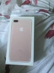 Caixa do iPhone 7 plus