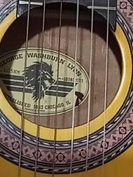 Título do anúncio: Violão George washburn lyon