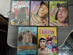Clube do Chaves em DVDs Originais.