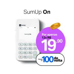 Título do anúncio: Cashback de R$ 100 - SumUp ON - Garanta já a sua!