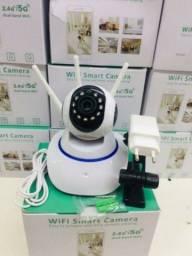 Câmera robô IP 3 antenas