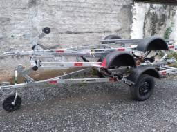 Carretas Rodoviárias para Jet Ski - Galvanizada - Marca Boa Vista