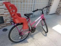 Bicicleta com cadeirão nova