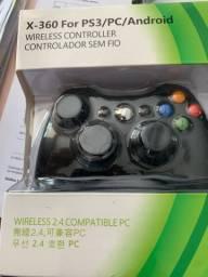 Controle Xbox - ps3