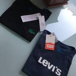 Camisetas Femininas Levi?s e Lacoste - NOVAS - Parcelamos - Entregamos