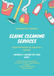 Serviços de limpeza!