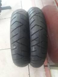 Vendo  par pneu aro 10 pirelli