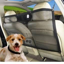 Rede Divisória Para Cães E Proteção Pet Para Carro