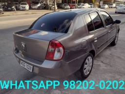 Clio Sedan 2007 Completo Revisado 3 mil + 48x de 499