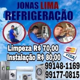 Título do anúncio:  Refrigeração Refrigeração - JONAS TEC