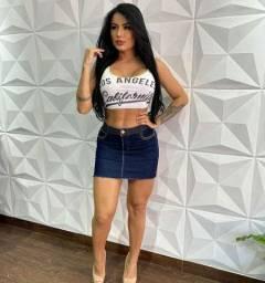 Promoção mini saia jeans