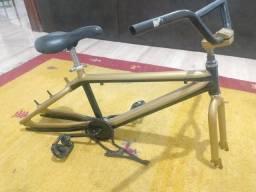Vendo quadro BMX Alumínio