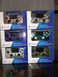 Controles sem fio para PS4 / PC / Celulares  novos na caixa com manual