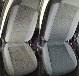 Limpeza e higienização de Sofá e Carro