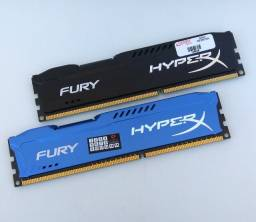 Memória Ram Hyper X Fury 8gb 1866 (2x4gb)