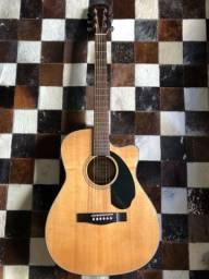 Violão elétrico Fender CC60SCE Natural Classic Design