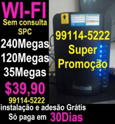 Internet internet instalação gratis