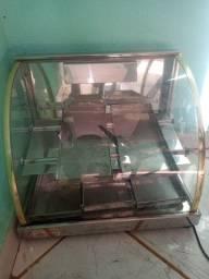 Estufa para salgados usada