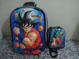 Vendo mochila + lancheira Dragon Ball 3D