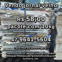 Jornal velho por R$5.00 \ Kg. Peça já!