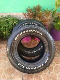 Vendo 2 pneu All terrain lt 245/70r 16
