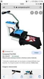 Máquina compacta print estampar