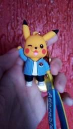 Chaveiro Pokémon Pikachu