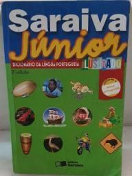Livro Dicionário da Língua Portuguesa Ilustrado
