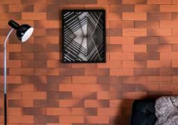 Título do anúncio: Revestimento Brick Rústico 6828-6051 250X80X14mm Extra Gail R$2,99 - Amo Casa Acabamentos