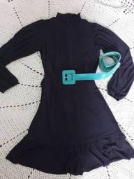 Vestido p com etiqueta