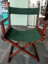 Cadeira diretor de cinema igual do Al Capone