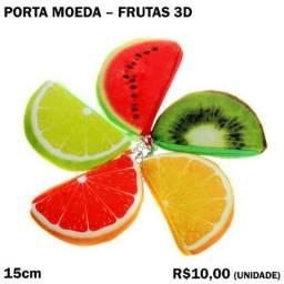 Porta Moeda Fruta 3D