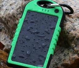 Carregador solar universal kit com 5 peças